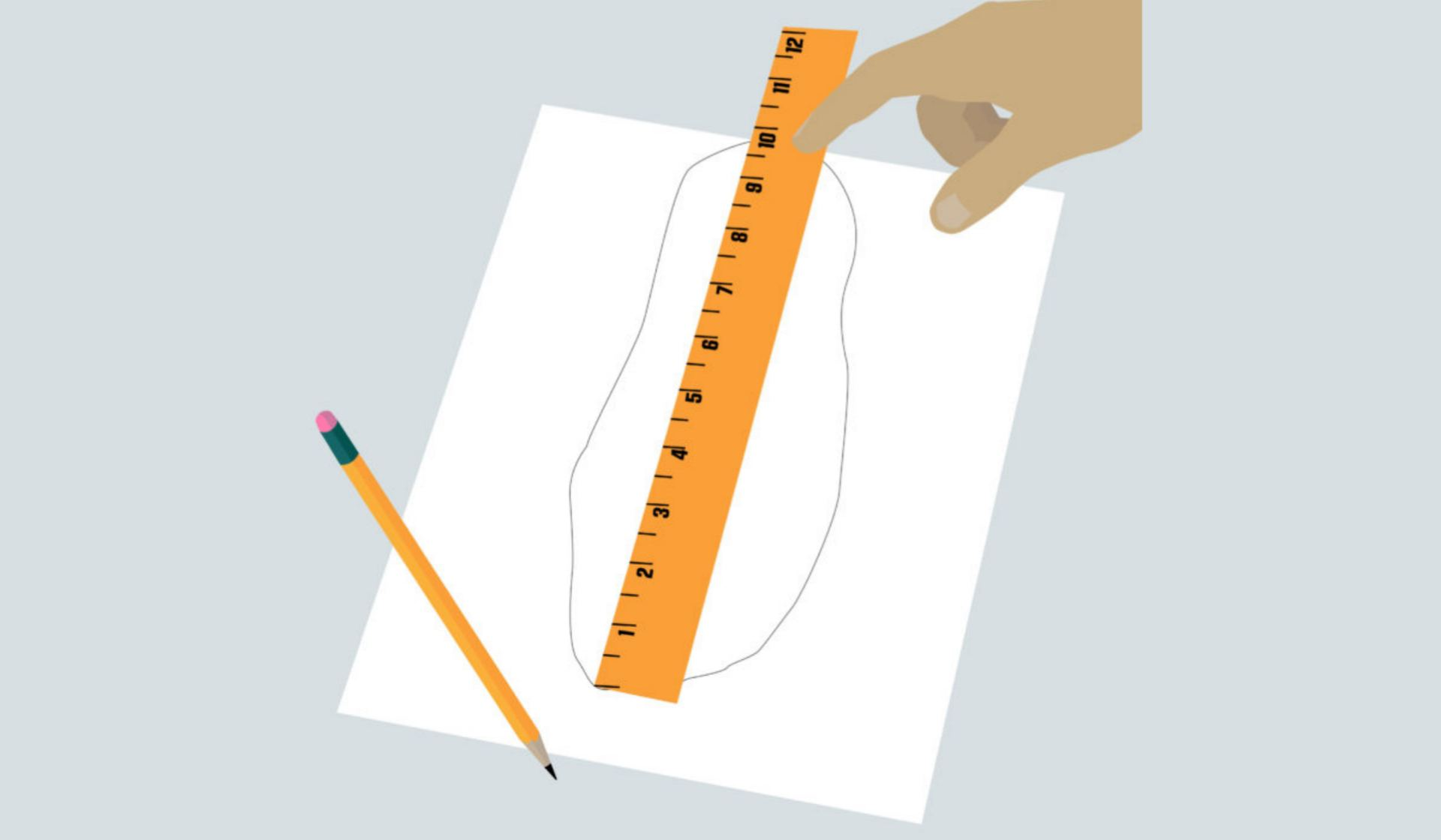 How to measure your shoe size
