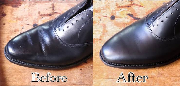 How to get rid of shoe crease