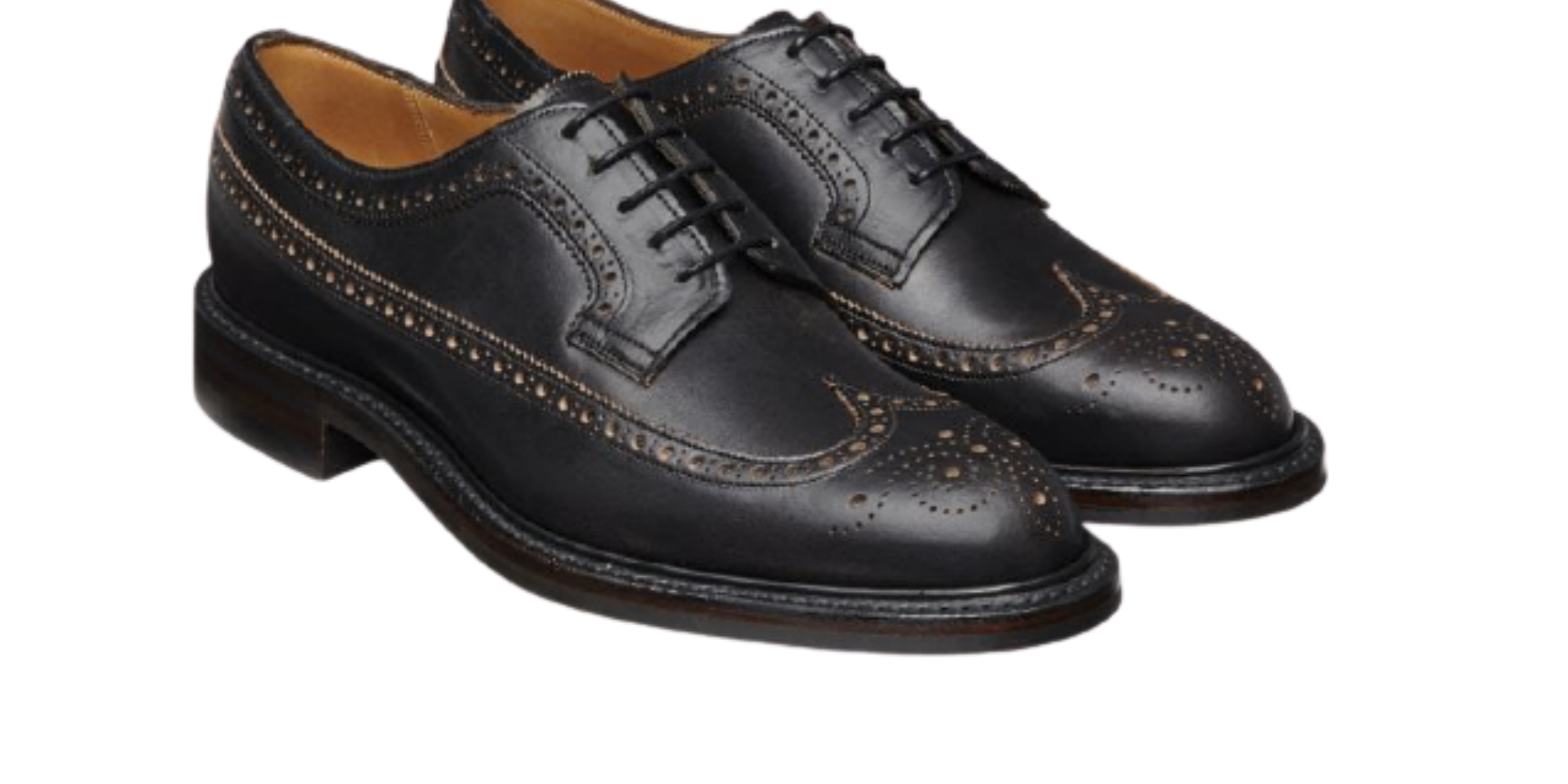 Longwing Brogue —Types of Men's Formal Shoes
