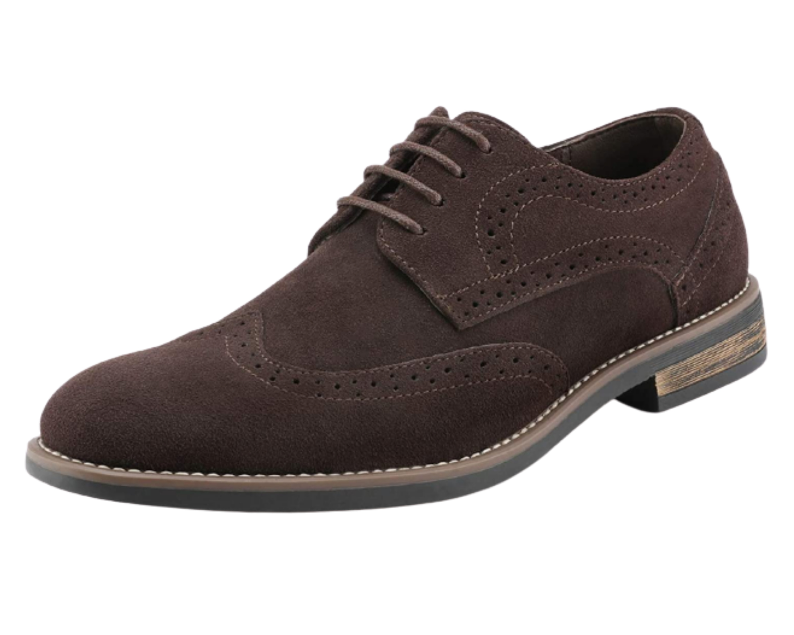 Brown dress shoes for men