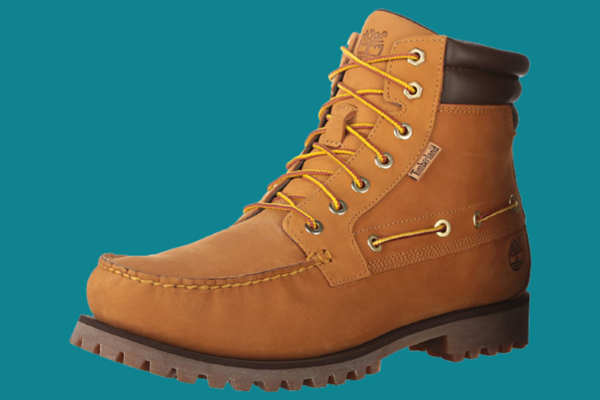 Comfy Timberland boots for hikers