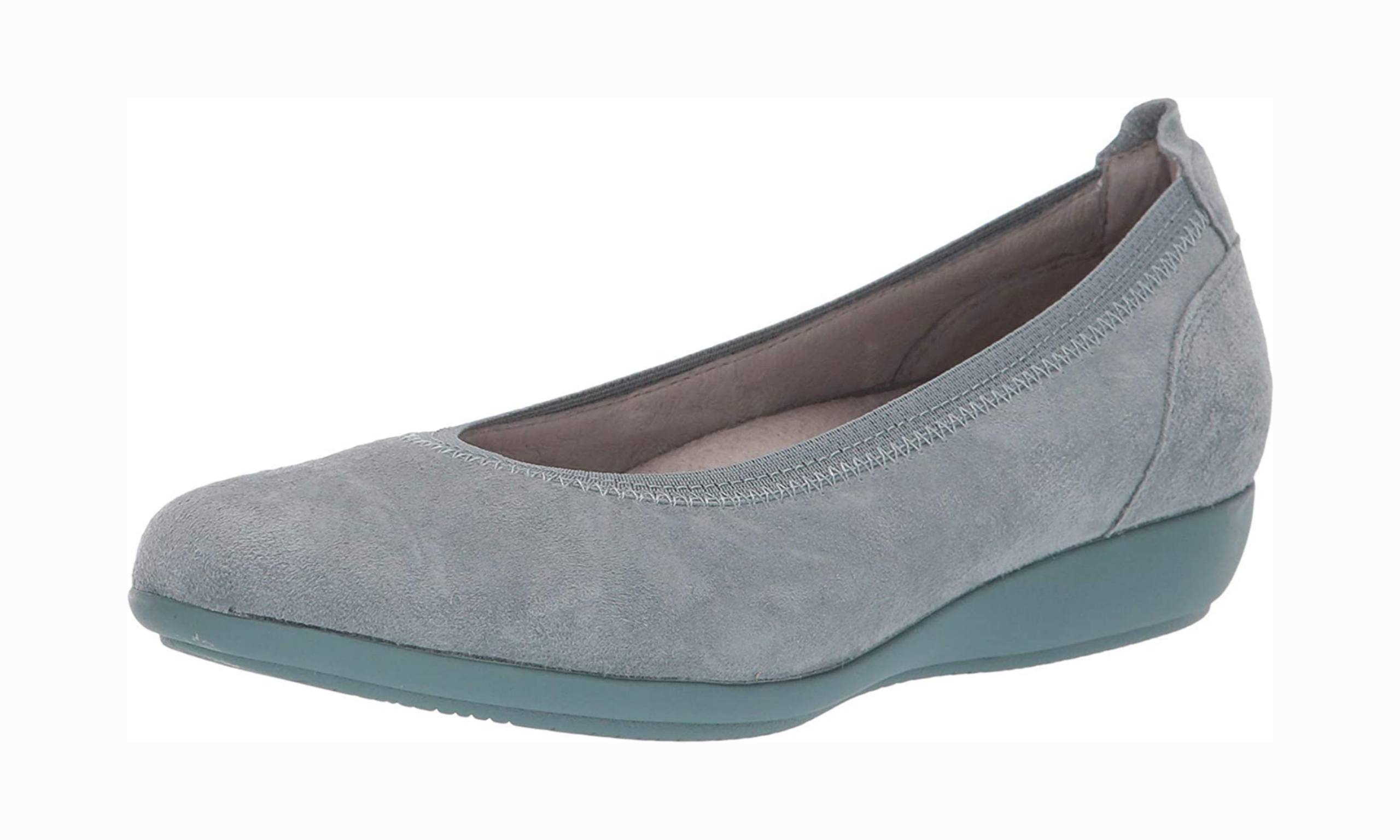 Women's arch support shoe for office