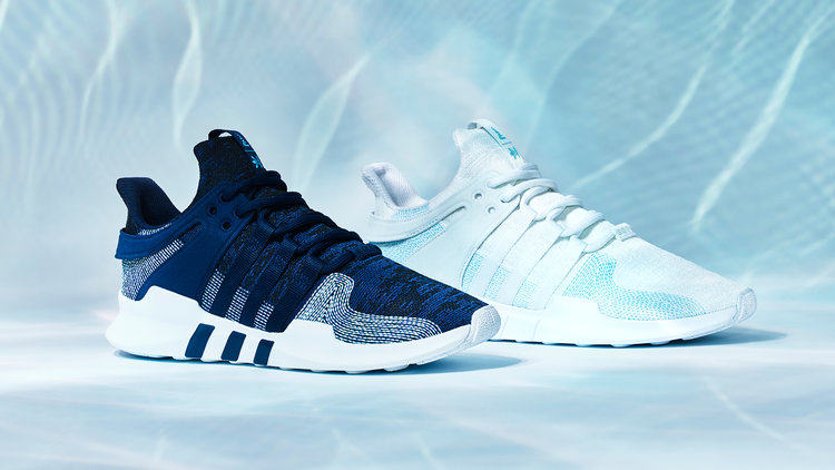 Adidas Sneakers Made from Ocean Waste - Parley