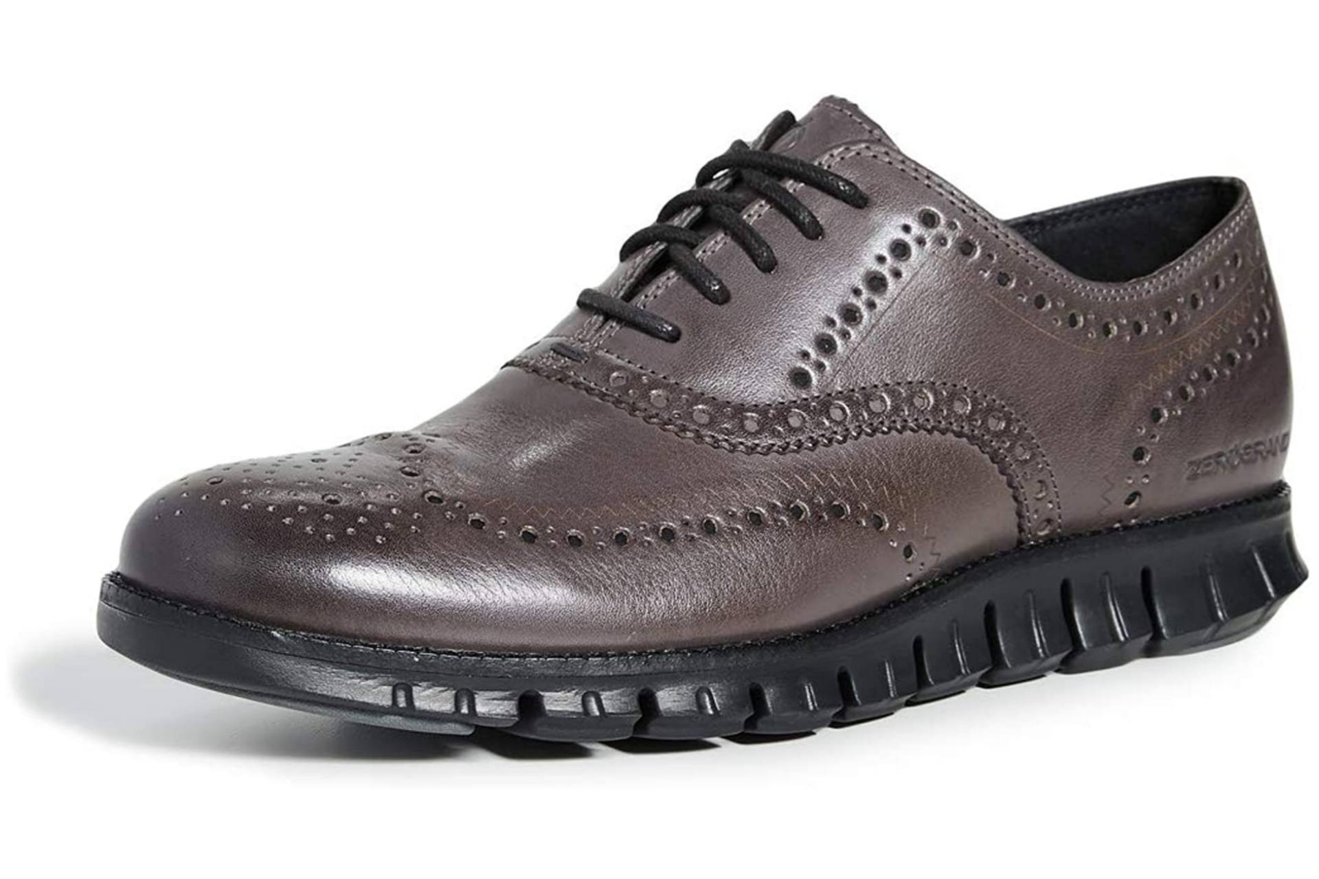 Men's work oxford shoes