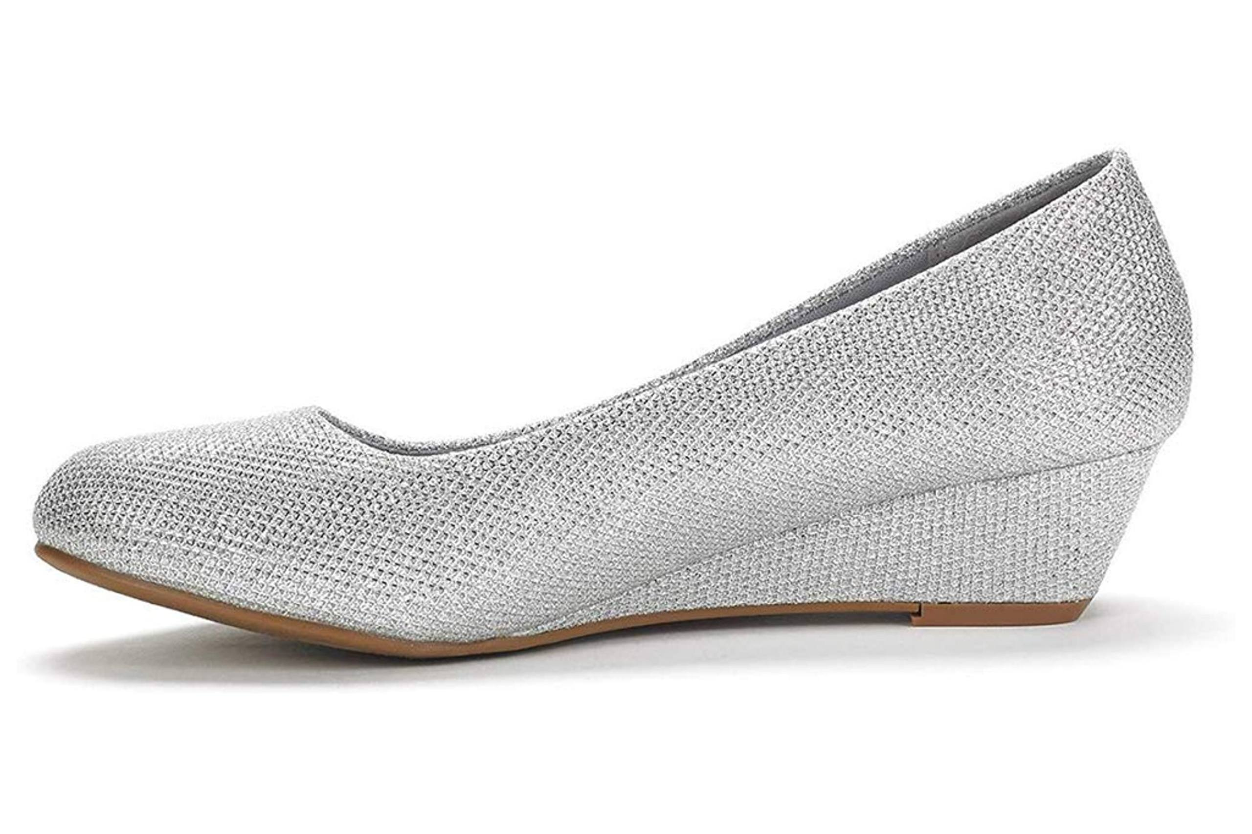 Best low heel shoes for wedding with closed toe