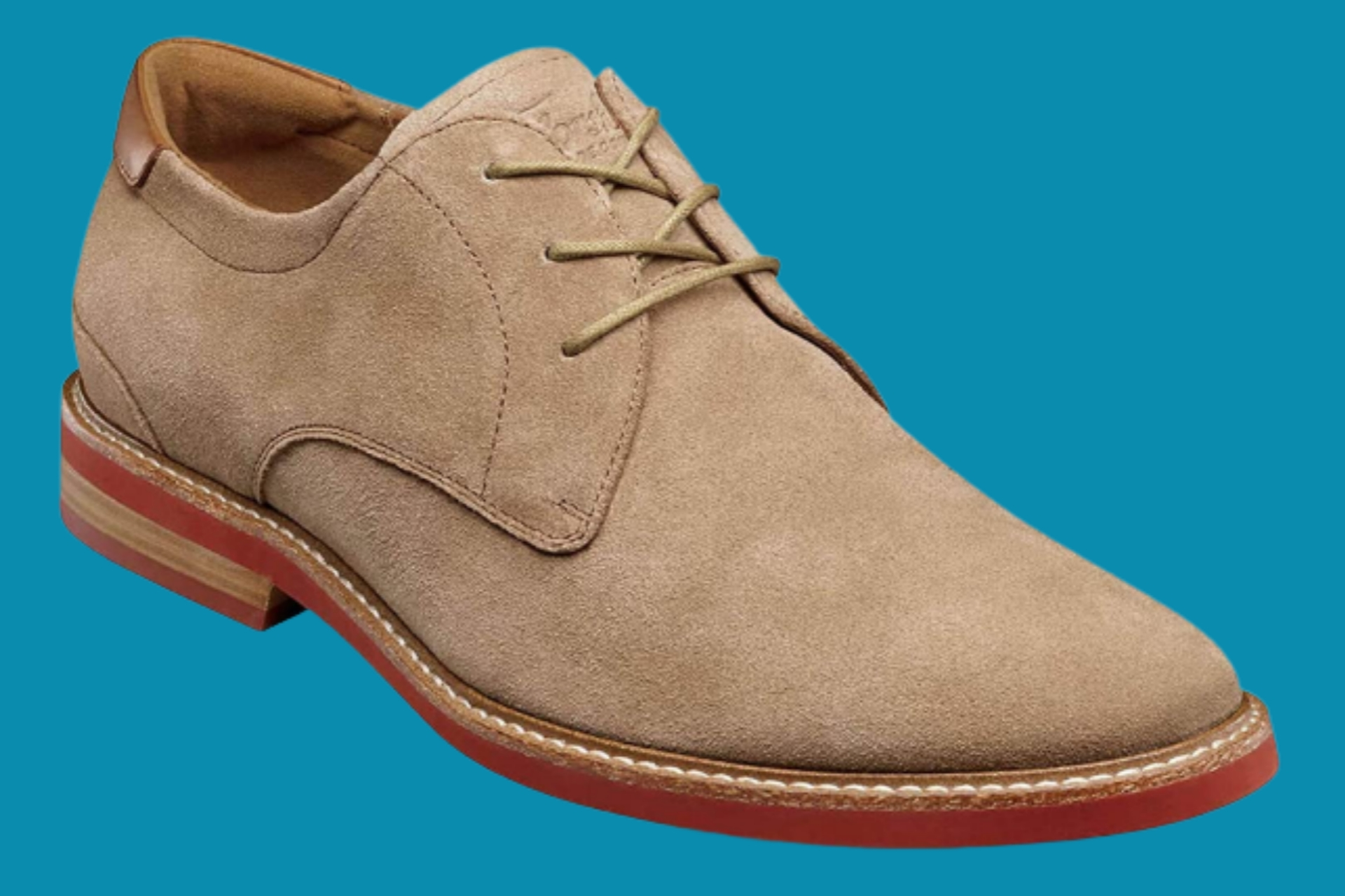 Men's Florsheim suede shoes