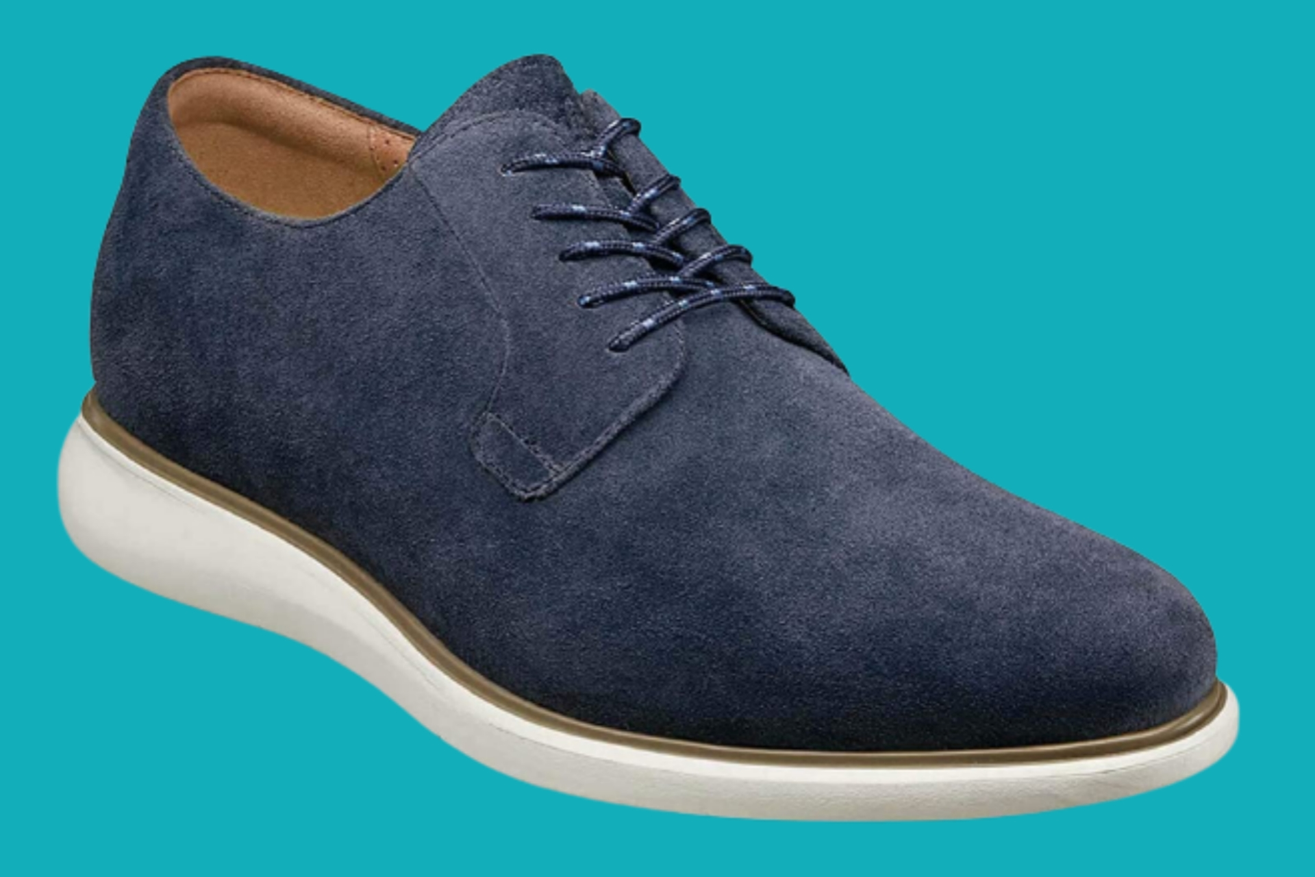Men's Florsheim suede shoe