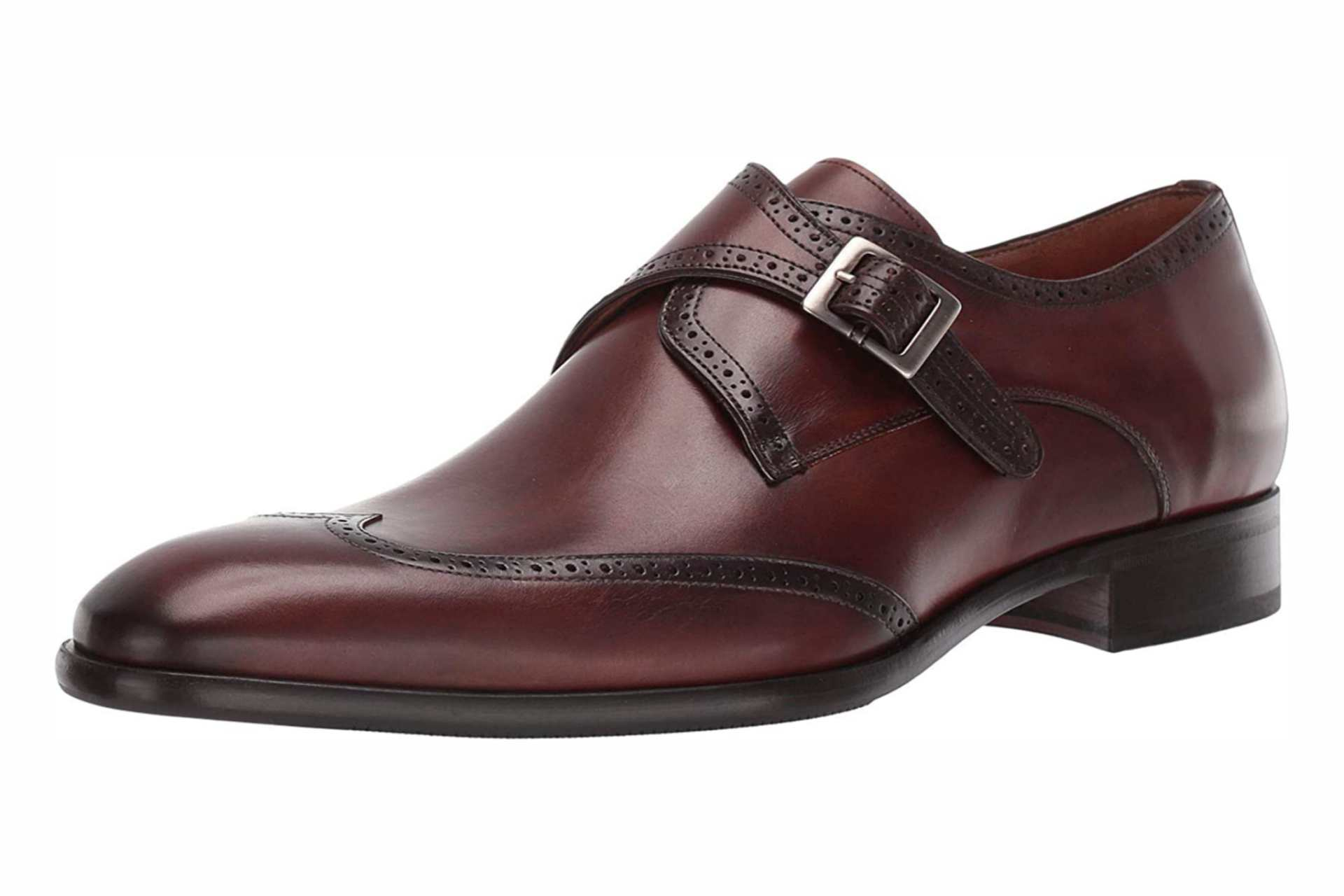 Best brown Monk Strap shoes